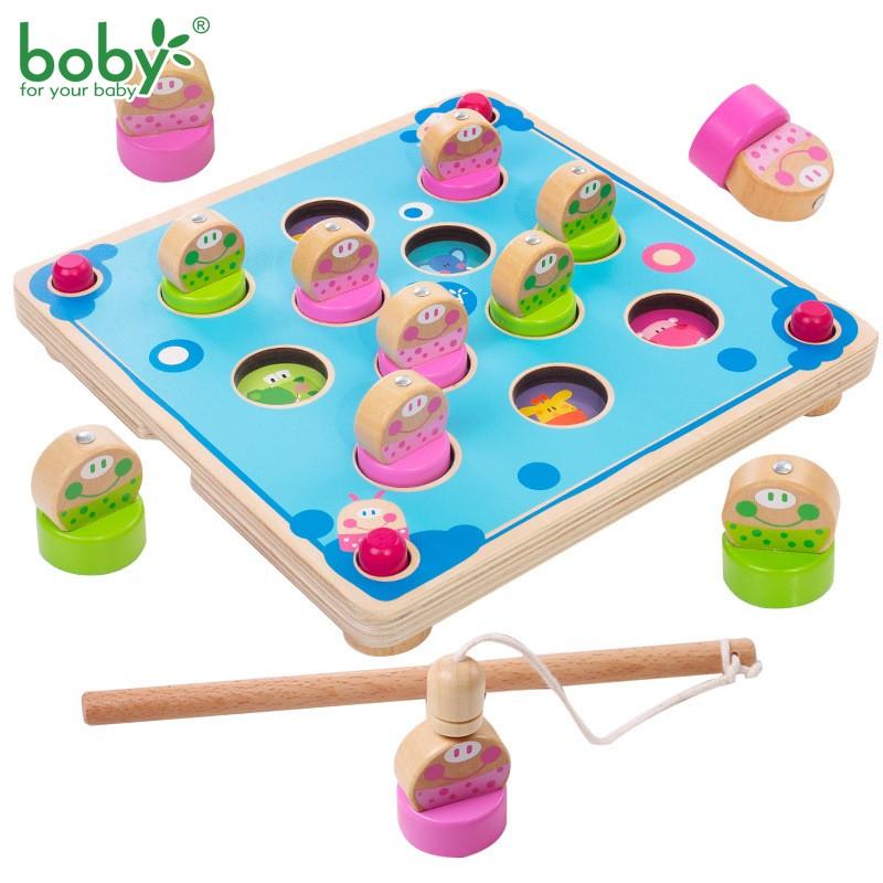 Đồ chơi câu ếch luyện trí nhớ Boby