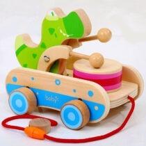xe kéo gỗ